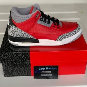 Air Jordan 3 Fire Red 6.5